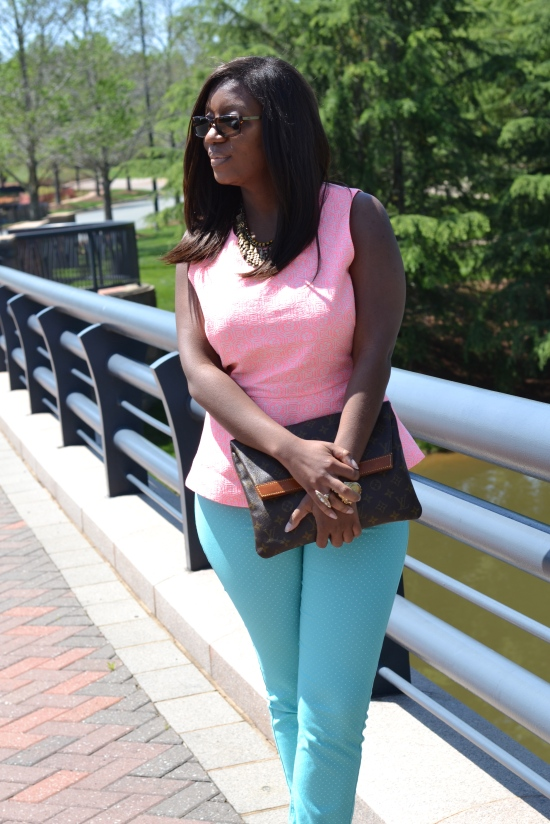 Pink and Mint Green Trend