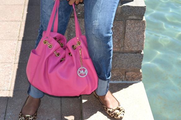 Spring Neon - MK Pink Purse