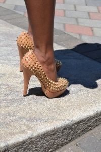 Vince Camuto Spiked Heels