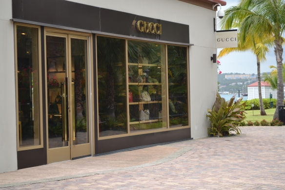 Gucci Store in St. Thomas