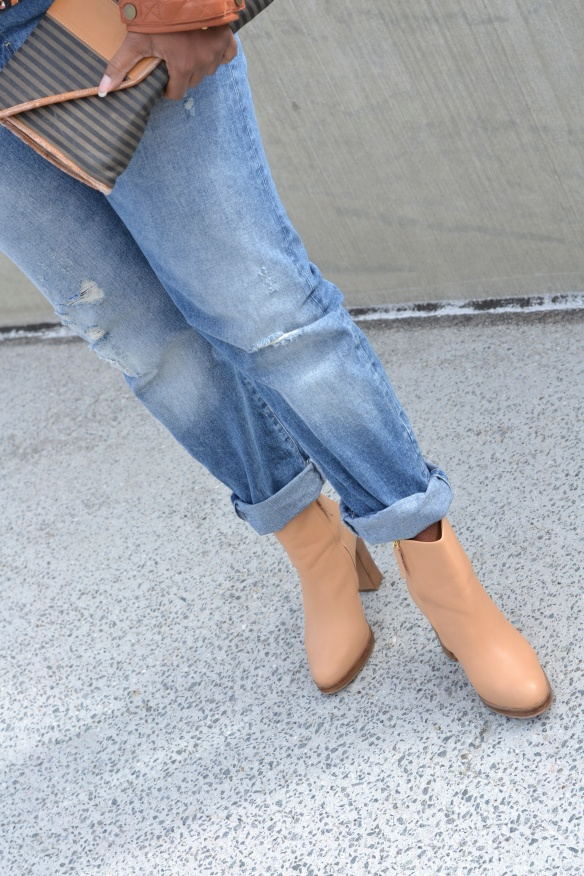Zara Boyfriend Jeans and Boots