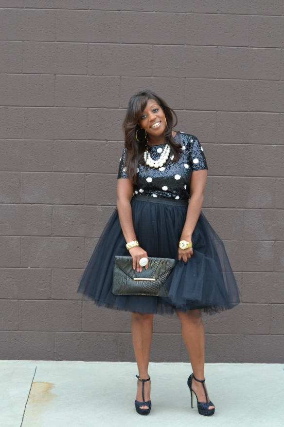 Tulle Skirt - Holiday Party Looks