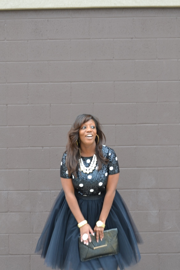 Tulle Skirt - Holiday Party